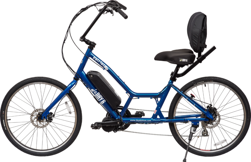 2017 Day 6 Bicycles Patriot Electric