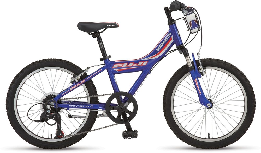 2009 Fuji Boy\'s Sandblaster - Bicycle Details - BicycleBlueBook.com