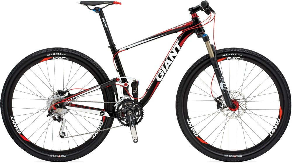 2011 Giant Anthem X2 29 Bicycle Details