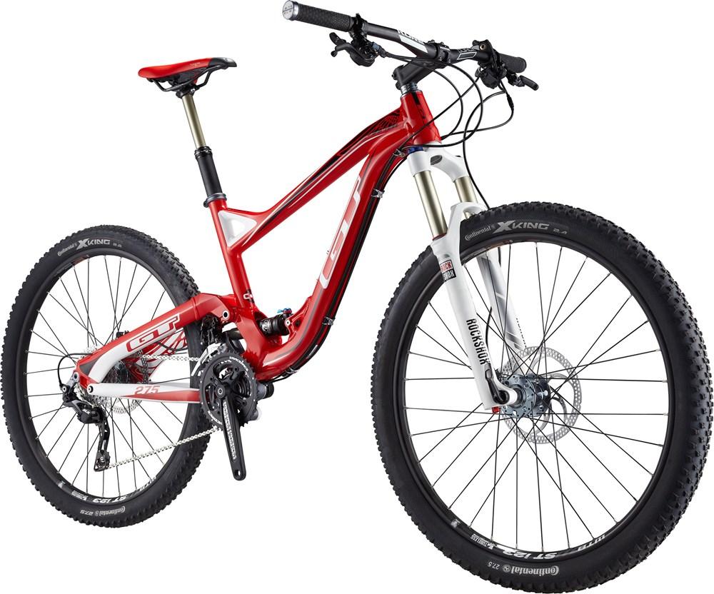 2014 Gt Sensor Expert Bicycle Details Rock Shock Sektor Rl Gold 275