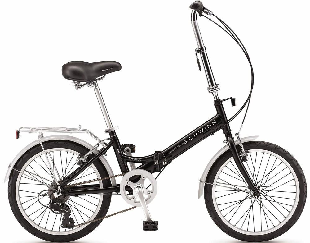 2011 Schwinn World Folding Bicycle Details