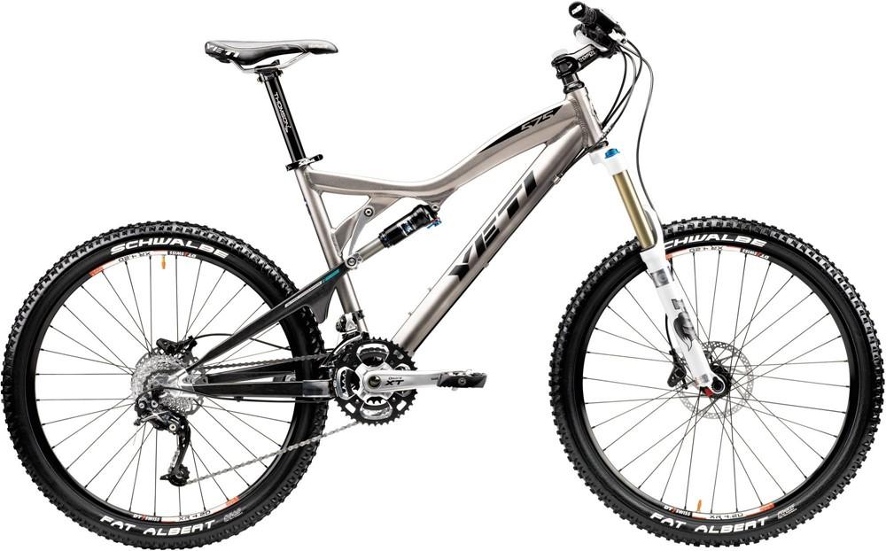 2010 Yeti Cycles 575 (Carbon/Aluminum Swingarm, Race Build Kit ...